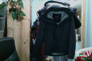 BEAUTIFUL Hollister all weather Mens Winter jacket