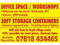 Office / workshop / storage containers