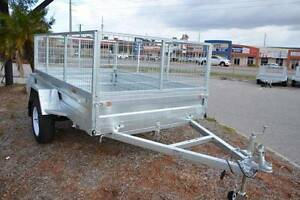 Box trailer. 8x5 all HD Galv + full Rego & Cage, NEW PMX Trailer Wanneroo Wanneroo Area Preview