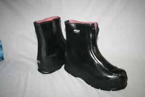 Acton  Rubber Overshoes - Size 9 men's - Brand new