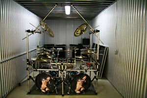 Huge road ready drum kit!