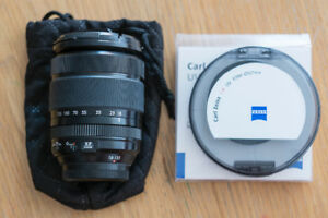 Fujifilm Lens 18-135 with Zeiss UV Filter