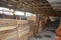 Pallets and Plywood