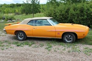 1970 Gto Orbit Orange Judge Convertible