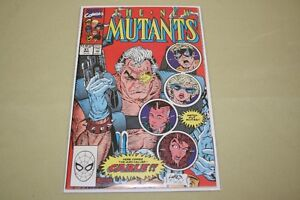 The New Mutants Comic Number 87