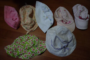 Various Hats Up to Approx age 1.5