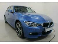 2017 BLUE BMW 335D 3.0 XDRIVE M SPORT DIESEL AUTO SALOON CAR FINANCE FR £321 PCM