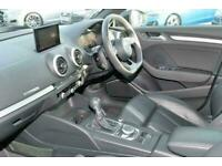 2017 Audi A3 SPORTBACK SPECIAL EDITIONS S3 TFSI Quattro Black Edition 5dr S Tron