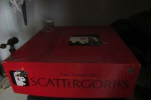 Scatterergories board game