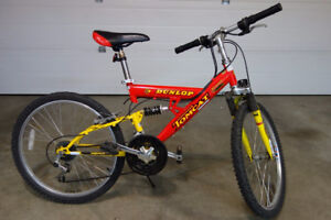 Kids Mountain Bike Dunlop Tomcat 21 speed