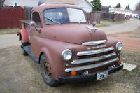 1950 Dodge truck 1 ton 9 Ft dump box