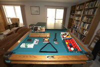 Dufferin Pool Table, ping pong & accessories