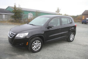 2010 VW Tiguan 4 Motion AWD