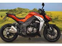 Kawasaki Z1000 2015**WAVY DISCS, DIGITAL DISPLAY KEY IMMOBILISER**