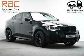 image for 2016 65 BMW X6 *HEAD UP DISPLAY*SUNROOF*  3.0 XDRIVE40D M SPORT 4D 309 BHP DIESE