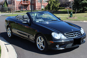 2007 Mercedes-Benz CLK550 AMG Package Convertible