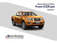 New 67 Reg Nissan Navara D/Cab Tekna Manual *From £231+VAT P/M*