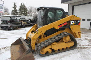 REDUCED 2015 Cat 279D Compact Track Loader