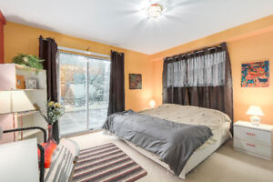 Large 1 bedroom, with private patio and garden area!