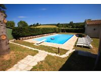£895.00 (Aug Bank Holi Week 25/08 -1/09 Large Luxury Secluded Holiday Villa South France + Pool