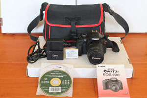 Canon EOS Rebel T2i 18.0MP With 18-55mm IS Lens