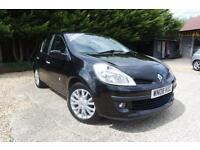 RENAULT CLIO DYNAMIQUE 1.2 16V TURBO, Black, Manual, Petrol, 2008
