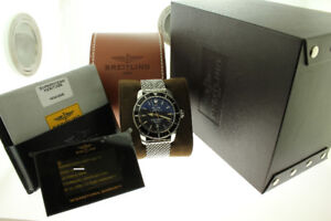 Breitling Superocean Heritage Automatic 46mm Black Dial A17320