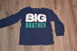 Big Brother long-sleeve shirt 3T Carters like new