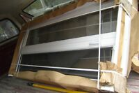 2 chassis 33 x 66 blanc manivelle neuf