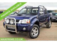 NISSAN NAVARA 2.5 DCB NAVARA OUTLAW 4X4 SWB NEW ENGINE + NEW PAINT + NEW TYRES