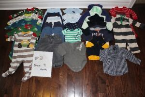 More Used clothing - Size NB to 2T (Part 3)