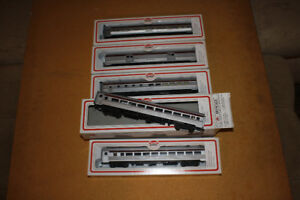 CPR HO Scale Passenger Equipment