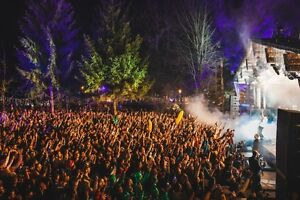 SnowBombing!  4-day festival wristbands