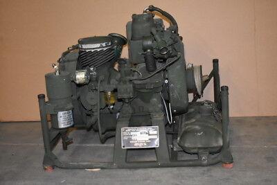 Air Compressor 2000psi 3.5cfm 1.5hp Gas An-m4c 3260101-6 High Pressure Tested