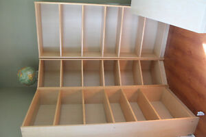 IKEA BOOK SHELVES WITH CORNER UNIT. BIRCH VENEER.