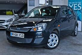 2008 FORD FIESTA 1.25 STYLE CLIMATE 5DR FINANCE FROM £0 DEPOSIT! HATCHBACK PETRO