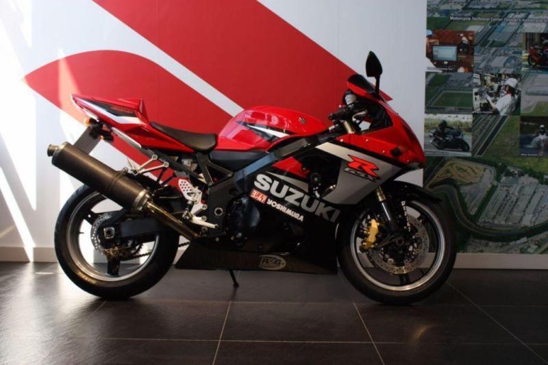 2005 05 SUZUKI GSXR 600 K5 RED