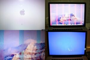"Macbook Pro 2011 15"" Repair Service for the FAILED GRAPHIC CARD"