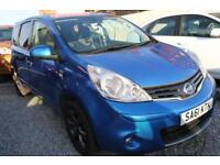 Nissan Note 1.6 16v auto 2011MY N-TEC Automatic