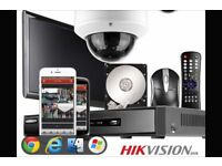 CCTV security camera with installation