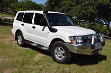 2004 Mitsubishi Pajero Turbo diesel,cold air,logbook,7seats,RWC Taigum Brisbane North East Preview