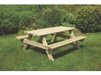 £40 off!!! Devon Picnic Table 1.8m - free delivery