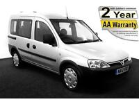 2012(12) VAUXHALL COMBO 1.3 CDTi TOUR ESSENTIA AUTO LOW FLOOR WHEELCHAIR ACCESS