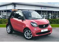 2016 smart fortwo cabrio 1.0 Passion 2dr Auto Cabriolet Petrol Automatic