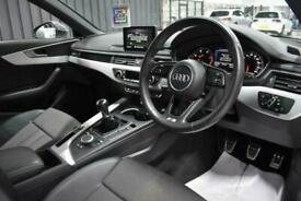 2017 Audi A4 2.0 AVANT TDI ULTRA S LINE 5d 188 BHP Estate Diesel Manual