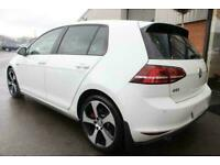 2016 WHITE VW GOLF 2.0 GTI 230 PERFORMANCE PACK DSG 5DR CAR FINANCE FR £273 PCM