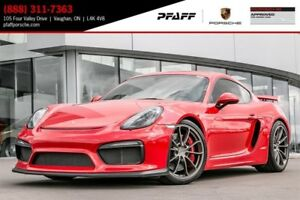 2016 Porsche Cayman GT4 - 6-SPEED *MANUAL*, RWD, 385 HP!