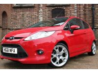 Ford Fiesta 1.6 ZETEC S (red) 2012
