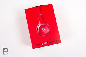 Beats Solo2 Wireless - Gloss Red - BNIB