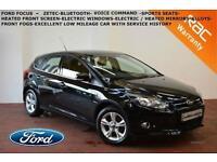 DEC 2011 Ford Focus 1.6TDCi (115ps) Zetec-B.TOOTH-DAB-LOW MILES-F.S.H.